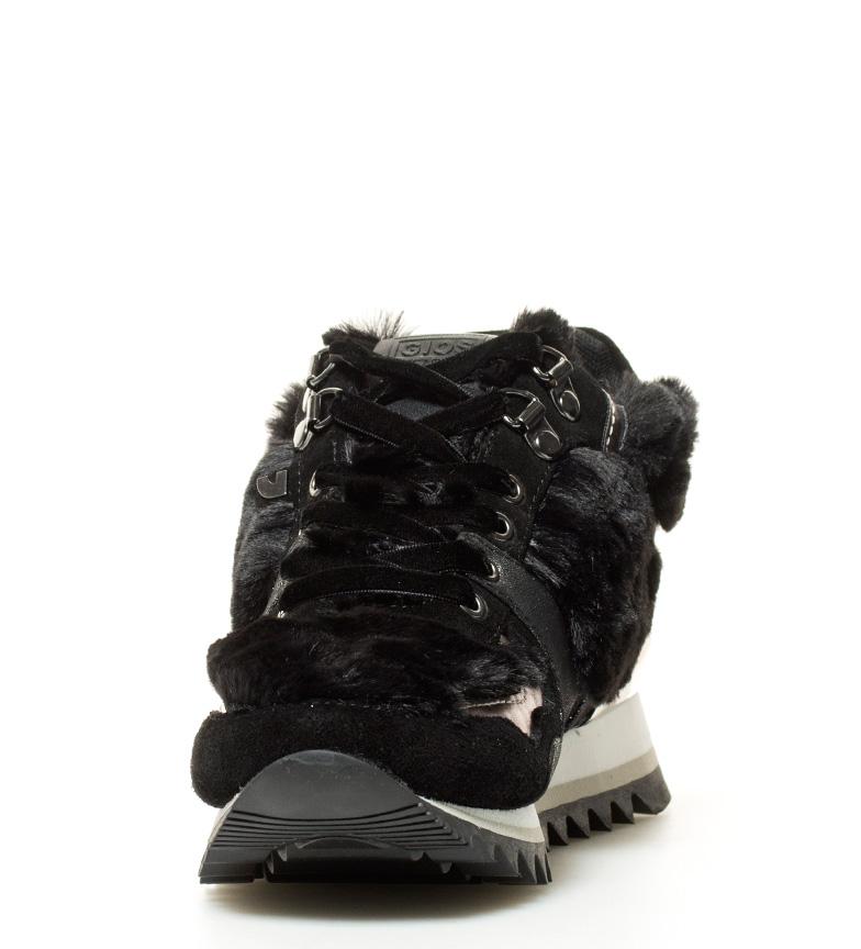 Gioseppo Zapatillas Elsa negro Altura cuña+suela: 6cm
