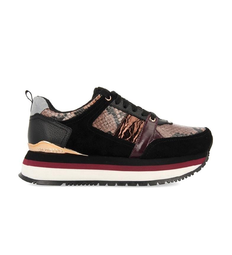 Comprar Gioseppo Black Engels leather shoes - platform height: 4cm