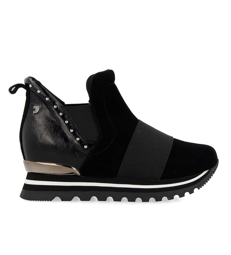 Comprar Gioseppo Hoscheid shoes black -inner wedge+sole height: 5.8cm