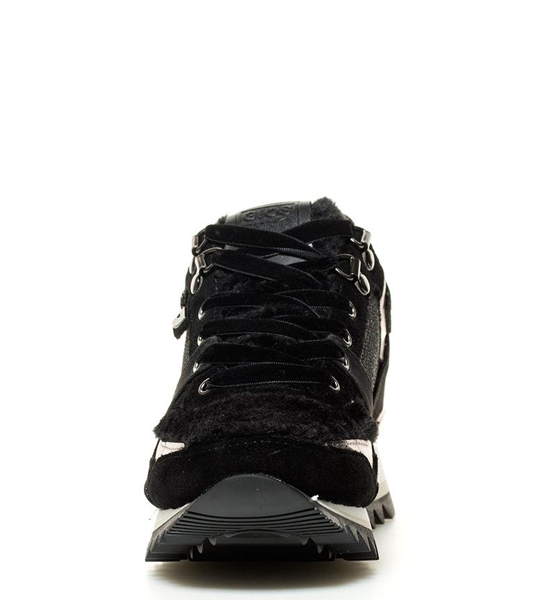 Gioseppo Zapatillas Jensen negro Altura cuña interna + suela: 6cm