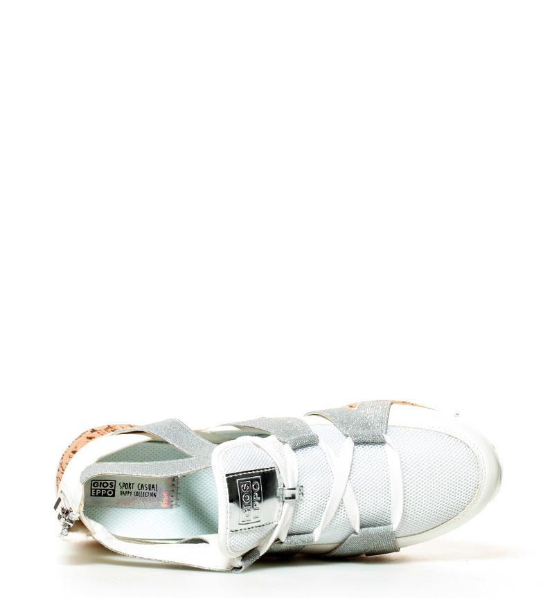 Gioseppo plata Karlie Zapatillas Zapatillas blanco Gioseppo RqZR0xwz