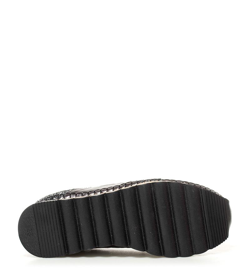 negro plataforma Zapatillas Leilani 5cm Altura 4 Gioseppo qa8FF