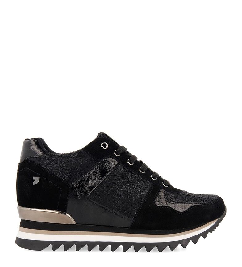 Comprar Gioseppo Mertzig chaussures noir - semelle + cale intérieure hauteur : 7cm