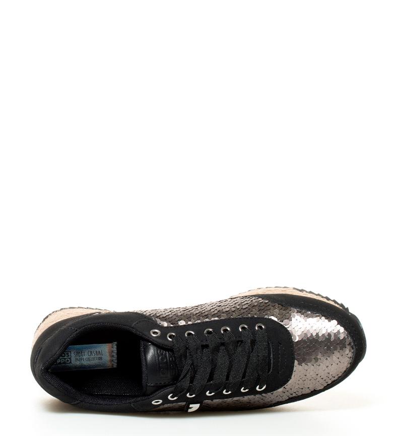 Zapatillas negro plomo Gioseppo Nikki negro Gioseppo Zapatillas Zapatillas Gioseppo Nikki plomo qqwE64r
