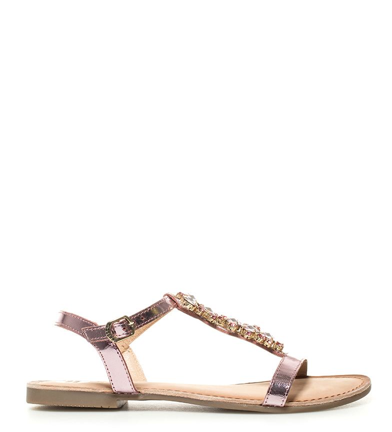 Comprar Gioseppo Pink leather sandals Yuna