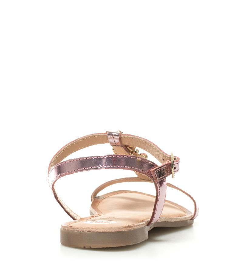 Leda Sandalias piel Gioseppo rosa de xwPttnY