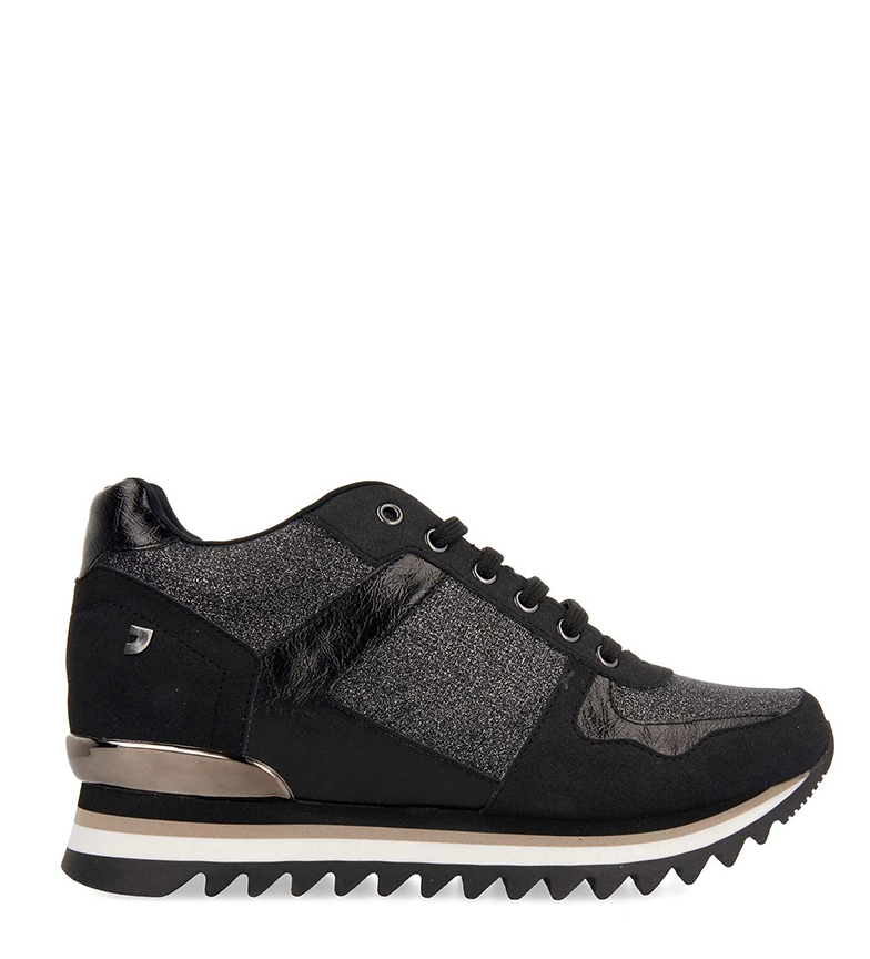 Comprar Gioseppo Teller black shoes -inner wedge+sole height: 7cm