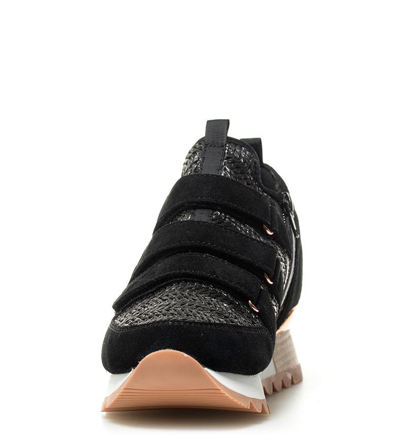 cuña Zapatillas suela 7cm cuña Tery Tery suela Gioseppo Zapatillas Gioseppo 7cm Altura Gioseppo negro Altura negro AxgnxwFO