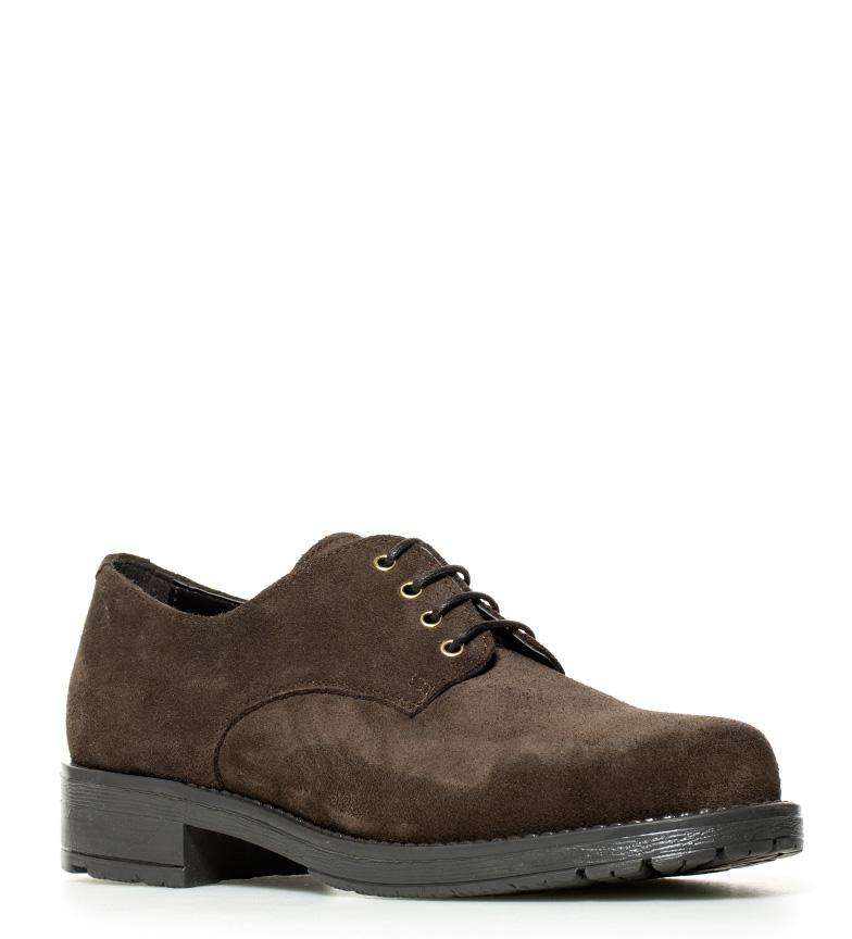Gioseppo Zapatos Gioseppo Arya de Zapatos chocolate piel n47xaqwEZ