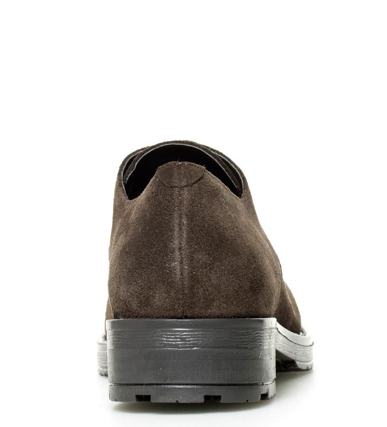Gioseppo Zapatos Gioseppo de chocolate Zapatos piel de Arya piel Arya wX1fInq7w