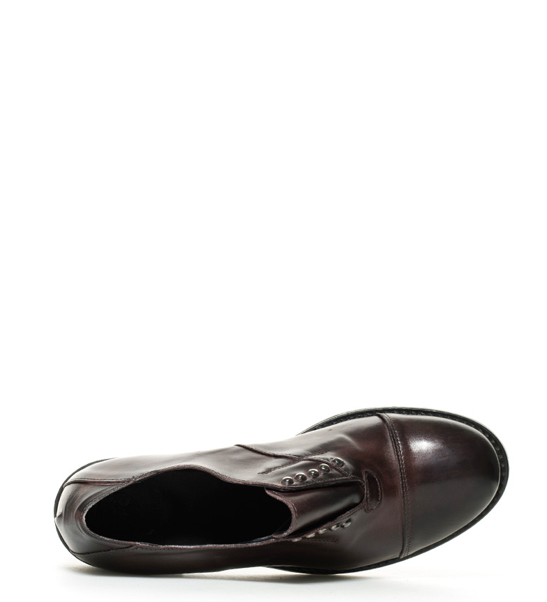 piel de Bahira Zapatos burdeos Gioseppo Ezq5Oxw