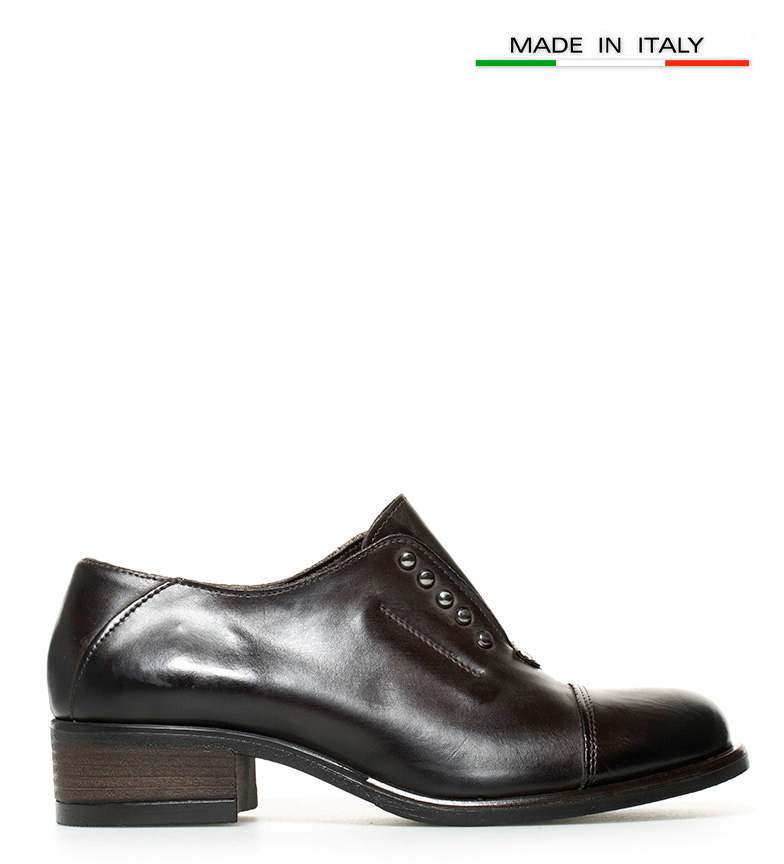 piel de Gioseppo Zapatos Bahira oscuro marrón 6p1Ewq