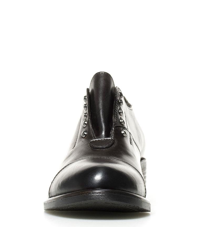 marrón Zapatos Gioseppo marrón de piel Zapatos oscuro Bahira Gioseppo piel Bahira de gFZwU6