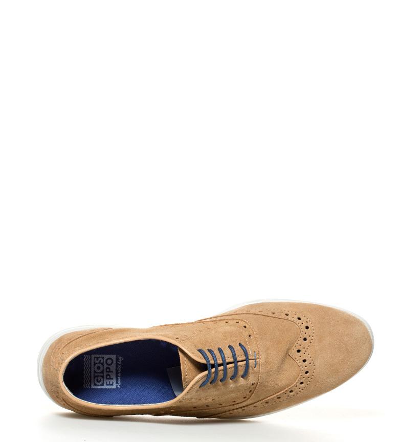 Gioseppo Zapatos de piel Cardinale camel
