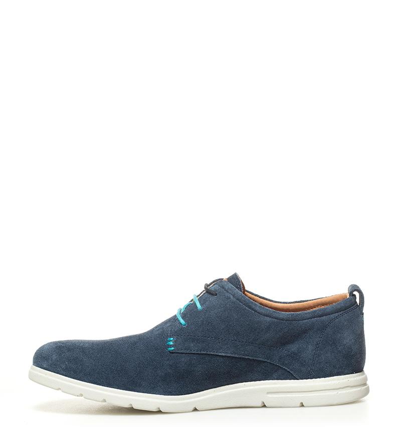 Gioseppo Zapatos de piel Galileo marino