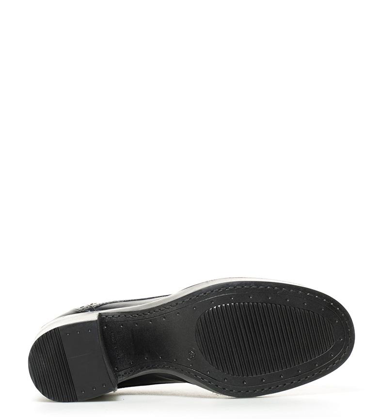 7cm br Altura de br azul Rowena piel Gioseppo tacón Zapatos Y6wpqzzT