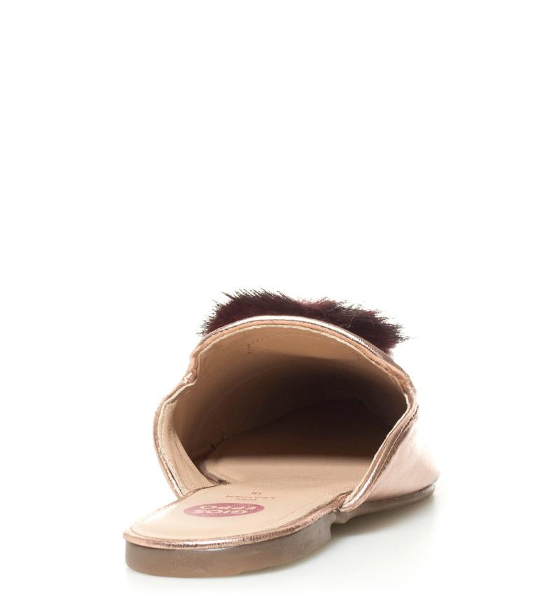 Zapatos Gioseppo mule Mileva Zapatos Gioseppo piel de bronce 77PqExwnO