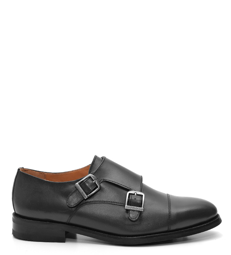 Comprar G&P Cobbler Tom scarpe in pelle nera -Suela di gomma di