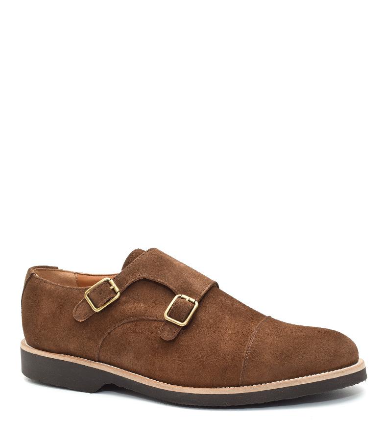 G&P Cobbler Zapatos de piel Jolene marrón Suela de goma ultrafina