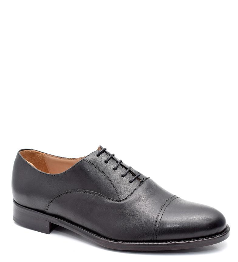 Comprar G&P Cobbler Zapatos de piel Dembe negro -Suela de goma-