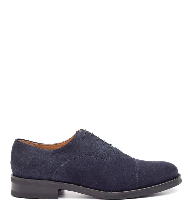 Comprar G&P Cobbler Dembe chaussures en cuir bleu -Suela de caoutchoutée