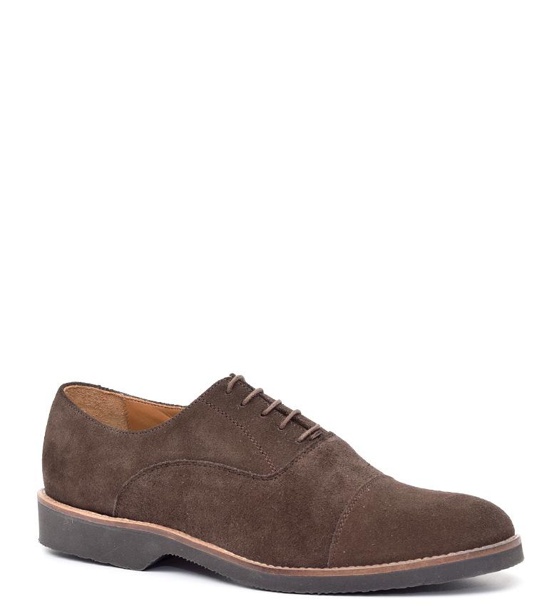 G&P Cobbler Zapatos de piel Donald marrón Suela de goma ultrafina