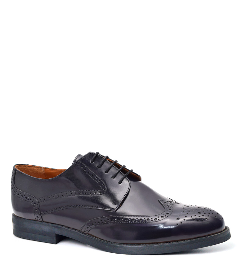 Comprar G&P Cobbler Zapatos de piel Keen azul -Suela de cuero-