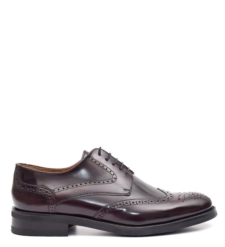Comprar G&P Cobbler Chaussures en cuir bordeaux Klatte -Suela de caoutchoutée