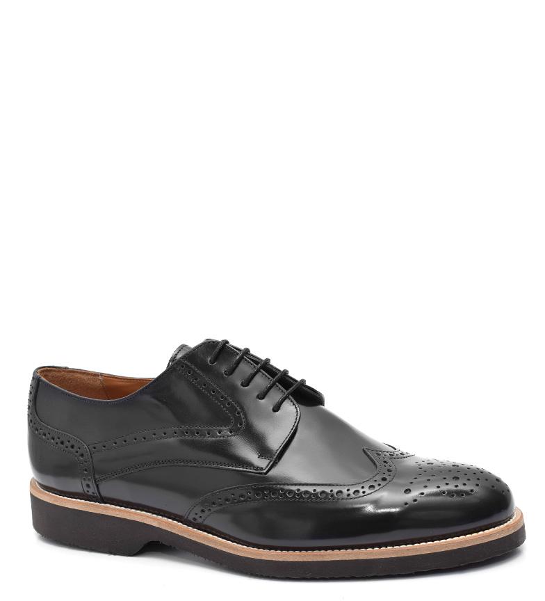 Comprar G&P Cobbler Black Kaplan leather shoes-Ultra-thin rubber sole