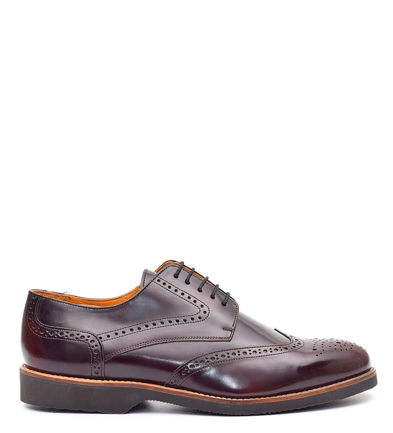 Comprar G&P Cobbler Kaplan chaussures en cuir bordeaux caoutchouc -Suela ultrafina-