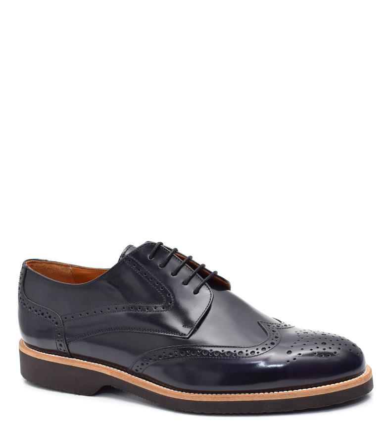 Comprar G&P Cobbler Zapatos de piel Kaplan azul -Suela de goma ultafina-