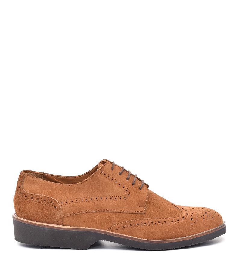 Comprar G&P Cobbler Caoutchouc Ryan chaussures en cuir marron -Suela ultrafina-