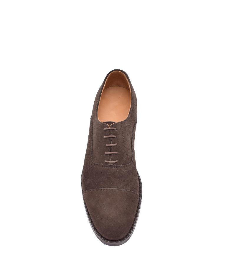 G&P Cobbler Zapatos de piel Raymond marrón Suela de goma