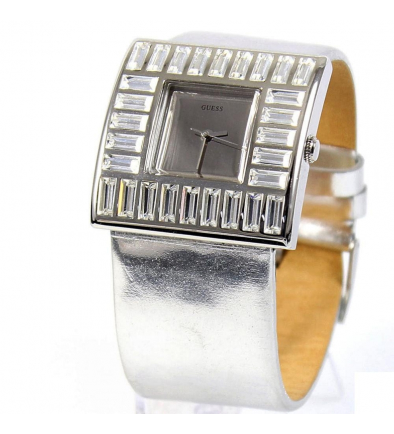 Comprar Guess Analogic leather watch W11524L1 silver
