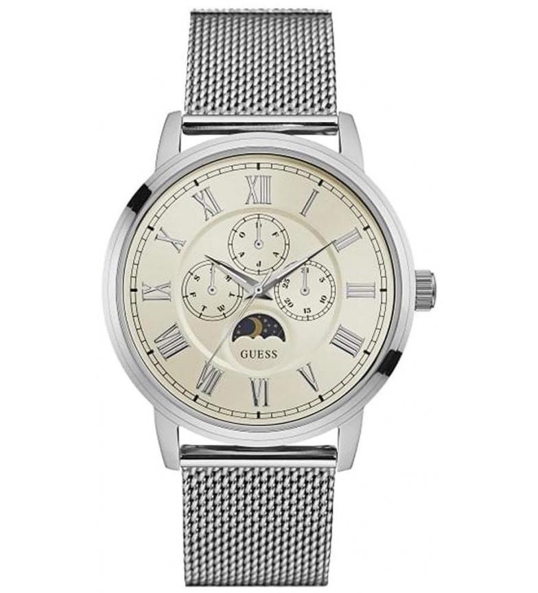 Comprar Guess Analog Chronograph Watch W0871G4 Silver