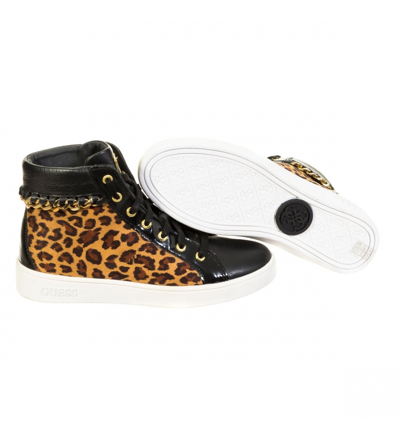 Guess Shoes Zapatillas Abotinadas Guess