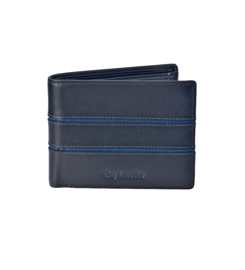 Comprar Guy Laroche American Leather GL-3703 with blue wallet -11,5x9x2cm