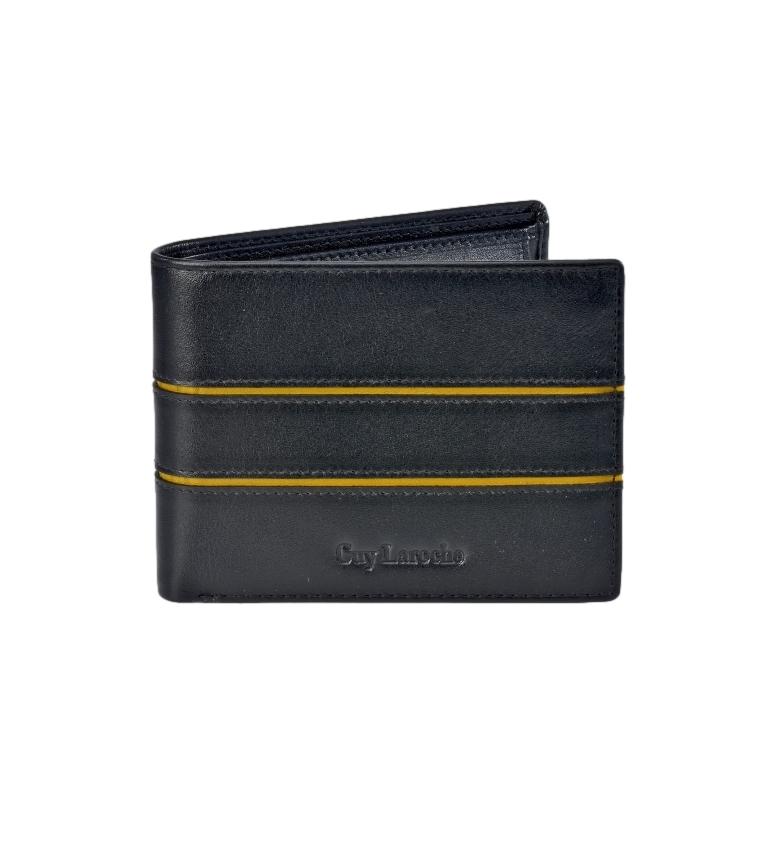 Comprar Guy Laroche Couro Americano GL-3703 com carteira preta -11,5x9x2cm