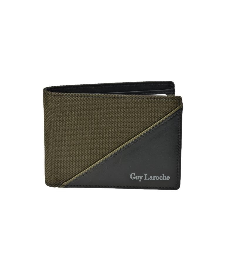 Comprar Guy Laroche American Leather GL-3725 green -11,5x8x1,5cm