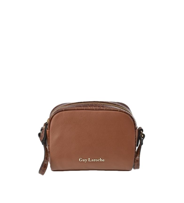 Guy Laroche Leather shoulder bag GL-12446 leather -20x16x6cm