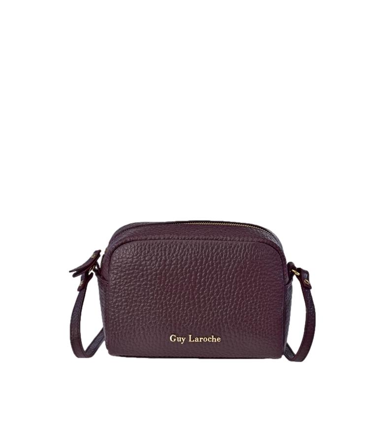 Comprar Guy Laroche Bolsa de couro ao ombro GL-12182G burgundy -21x15x9cm