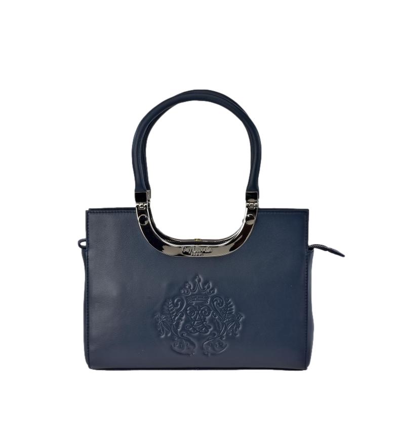 Comprar Guy Laroche Bolsa de transporte em pele GL-8001B azul -21,5x30,5x8,5cm