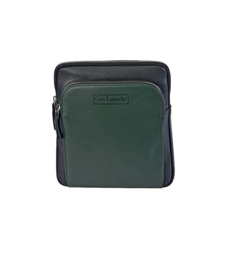 Comprar Guy Laroche Bandolera de piel GL-54 verde -21x26x5cm-