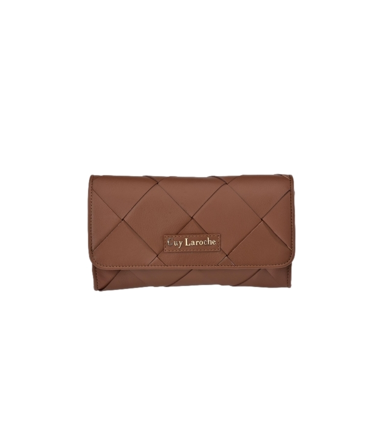Comprar Guy Laroche Leather handbag GL-12384 leather -25x14x4cm