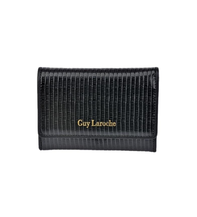 Guy Laroche Leather wallet GL-7475 black -9x13x2cm