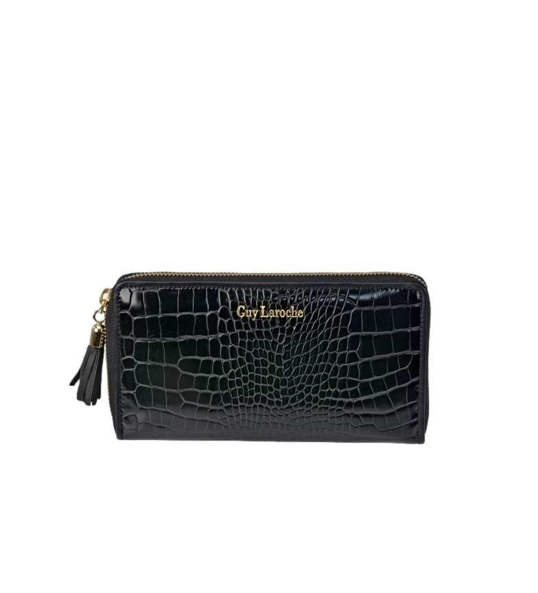 Comprar Guy Laroche Leather wallet GL-7490 black -20x10x2cm