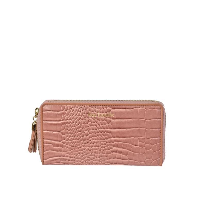 Comprar Guy Laroche Leather wallet GL-7490 pink -20x10x2cm