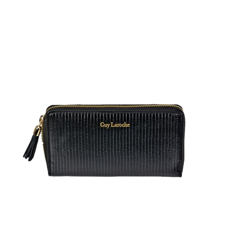 Comprar Guy Laroche Leather wallet GL-7470 black -19x10x2cm