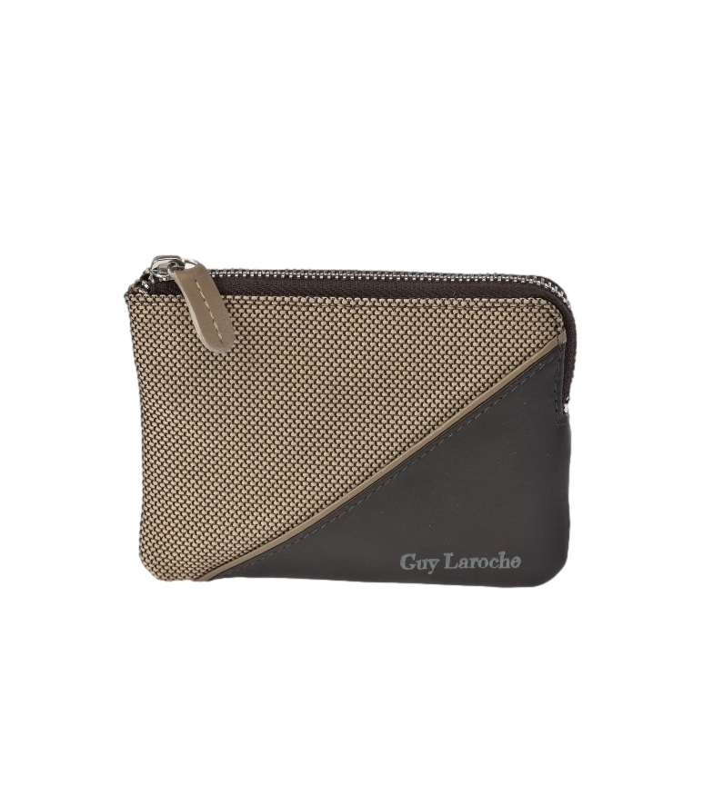 Comprar Guy Laroche Leather wallet GL-3727 beige -11,5x8,5x1,5cm