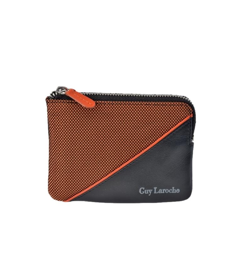 Comprar Guy Laroche Leather coin purse GL-3727 orange -11,5x8,5x1,5cm